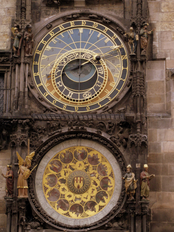 ASTRONOMICAL CLOCK - II