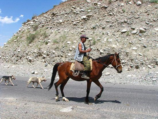 Kırgız Ve Atı Fotoğraf Süleyman Sezer