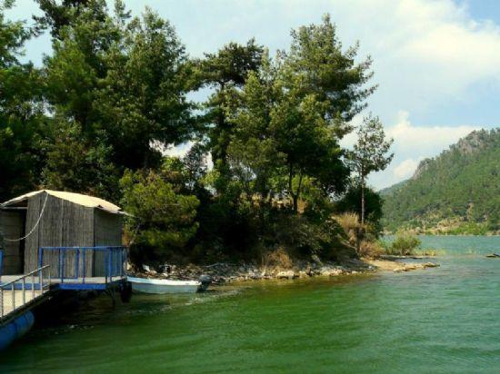 Karacaören 2 barajı'ndan fotoğrafı. fotoğraf: r. hasan ümitli