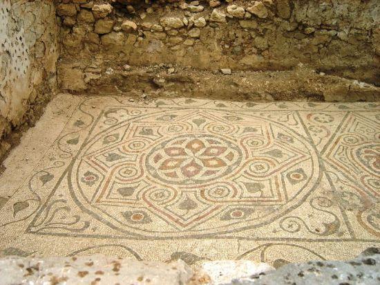 Arykanda Antik Kenti'nden Mozaik 1 - Fotoğraf: Gülter Özgür