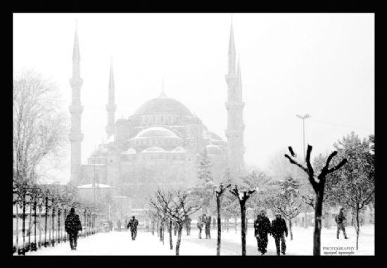 sultanahmet kar ile ilgili görsel sonucu