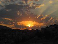 Güneş, Bulut Ve Hüzme