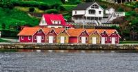 Norveç Kayık Evleri