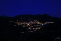 Dağ Yamacında Bir Şehir