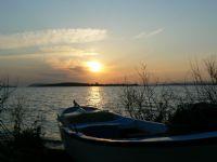 Gölyazı & Gün Batımı & Balıkçı Kayığı 2