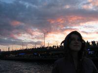 Galata'da Akşam