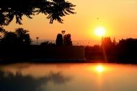 Esenboğa Hava Alanında Günbatımı