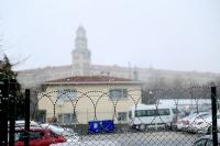 Selimiyede Kar