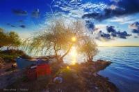 Gölyazı'nda Gün Batımı