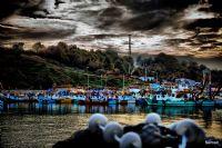 Bağırganlı'da Balıkçılar...