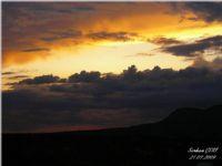 Kapadokyada Gün Batımı