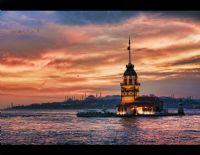 Günbatımında Kız Kulesi...