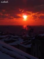 Karlı Bir İstanbul Akşamı