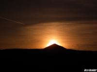 Uçak Ve Günbatımı