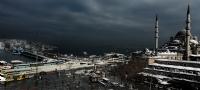 Eminönü'nde Kış