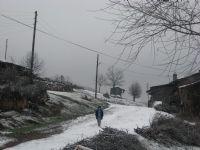 Köyümüze Kış Geldi