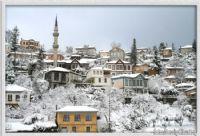 Akçaabat Orta Mahallede Kış