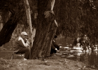 Dilberler Sekisinde Balıkçı