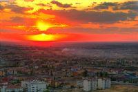 Aksaray'da Gün Batımı