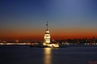 Salacak Sahilden Kız Kulesi