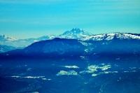 Çökelez Dağı Zirvesinden Eşeler Dağı, Denizli