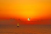 Kfeken gün batımı - Fotoğraf: Turgut Yazgı