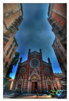 St. Antuan Kilisesi Girişi