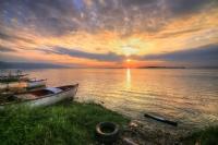 Gölyazında Gün Batımı