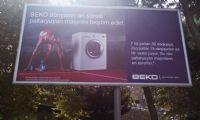 """Baku'de """"beko"""" Reklamı"""
