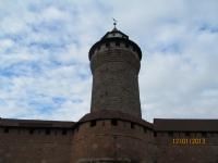 Nürnberg Kalesinden Bir Manzara