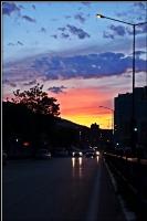 Akşam Çökerken Şehre.