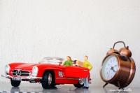 """Miniciks Hayatlar """"günün Klasiği 1957 Mercedes 300"""