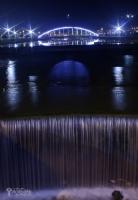Gece Park & Su & Işık