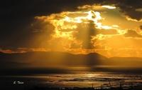 Yağmur sonrası Güneş ışıkları ve bulutlar - Fotoğraf: Sencer Tümer