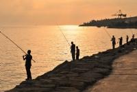 Gün Batarken Balık Tutmak..