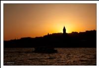 Galata'da Batan Güneş