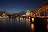 Köln Dom Katedrali Ve Hohenzollern Köprüsü