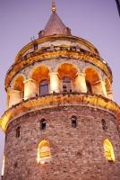 Galata Kulesi Yakın Plan
