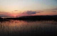 Gölyazı'da Gün Batımı