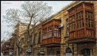 Bakünün Eski Sokaklarından