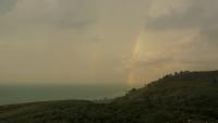 İznik Gölünde Gökkuşağı