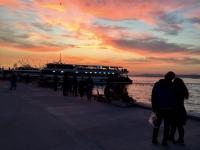 Kadıköy De Gün Batımı