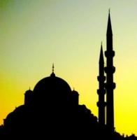 Yeni Camii  -silüet-