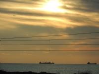 Deniz Ve Güneşin Batışı