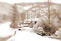 Kelkitten Kış Manzarası