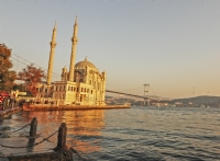 Gün Batımında Ortaköy Camii