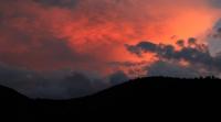 Bulutar Ardında Gün Batımı