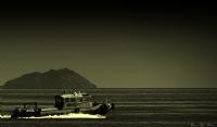 Sivri Ada Ve Deniz Motoru