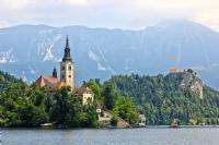 Alp Dağlarının Eteklerinde Bir Cennet : Bled