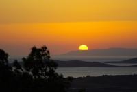 Cunda'da Günbatımı